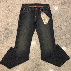 Lucky Brand Mid Rise Flare Sweet N' Low Jeans